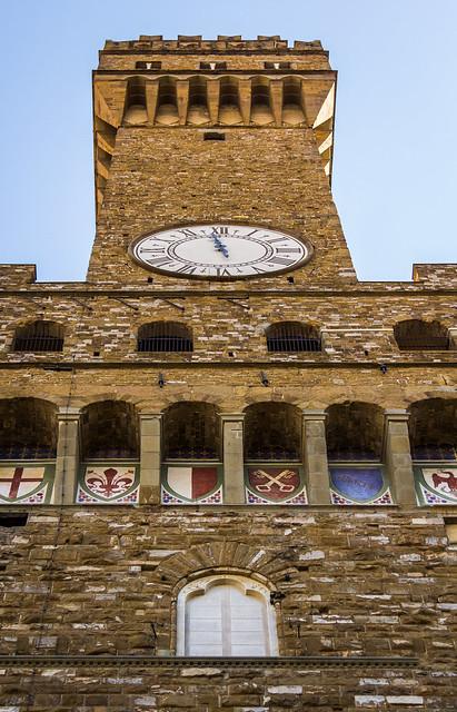 Italy - Firenze - Piazza della Signoria - Palazzo Vecchio
