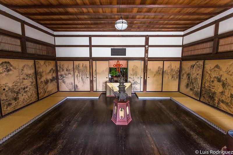 Interiores del templo Zuiho-in