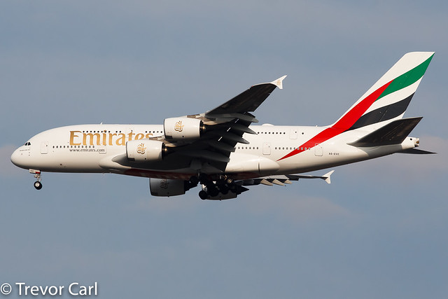 Emirates | A6-EVC | Airbus A380-842 | JFK | KJFK