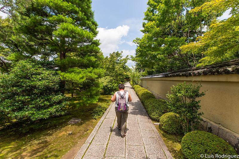 Camino de acceso al templo Hoshun-in