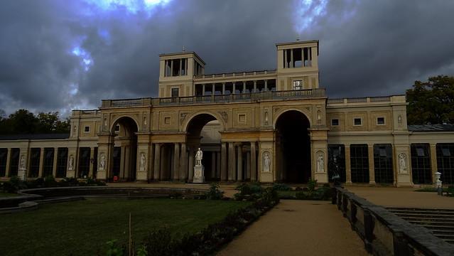 Orangery Palace in the Sanssouci Park of Potsdam