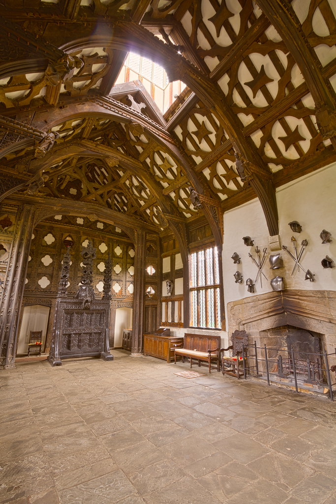 Rufford Old Hall The Great Hall