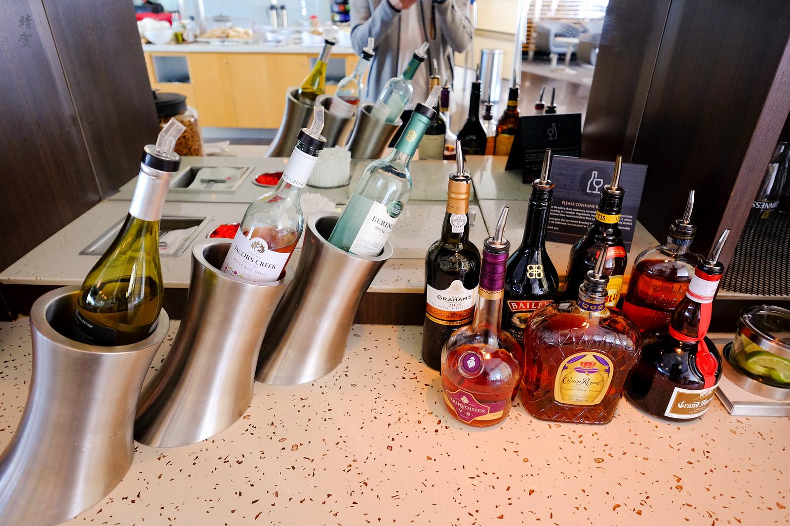 Bar in the buffet