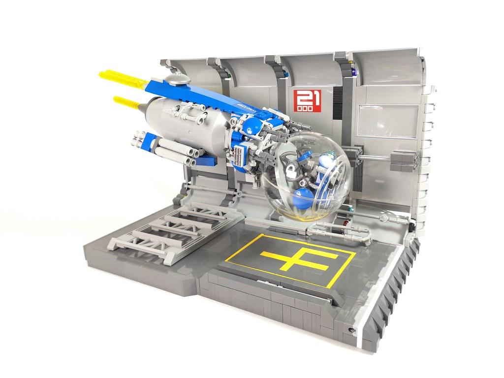 Spaceball #legomoc #lego #legophotography #legocreation   #legobuilder #lego #space #spaceship