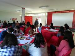 Encuentro de reflexión con estudiantes extranjeros