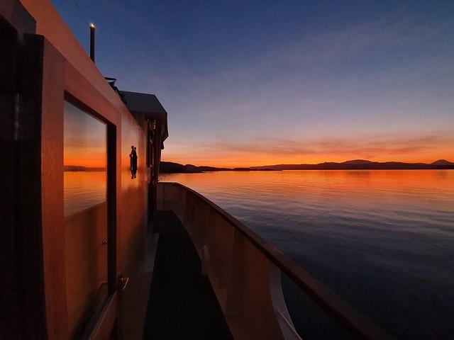MV Glen Shiel Sunset