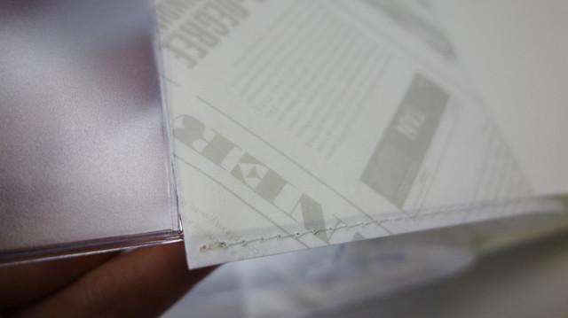 與 PVC 書套不相容的紙書衣@Take a Note 2020手帳