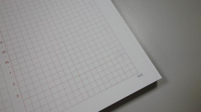 左右下角會有頁碼,方便跟月記事互相對照@Take a Note 2020手帳