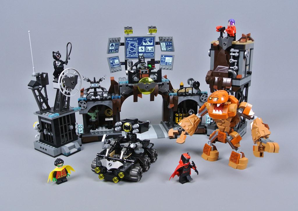 LEGO DC Comics Super Heroes 76122 Batcave Clayface Invasion review