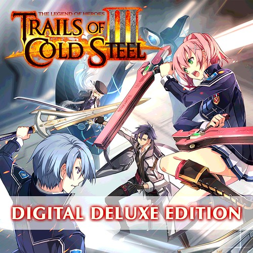 Thumbnail of Trails of Cold Steel III Digital Deluxe Edition on PS4