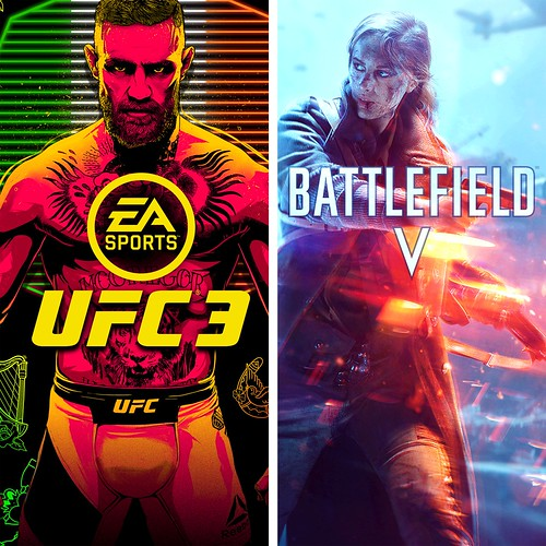 Thumbnail of BATTLEFIELD V and EA SPORTS UFC 3 Bundle on PS4