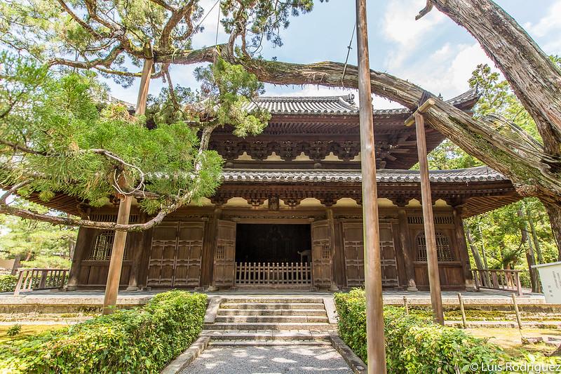 Exterior del salón Butsuden