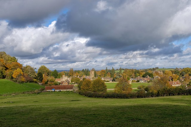 Autumn Colours, Montacute, Somerset.