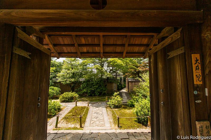Entrada al templo Daiji-in