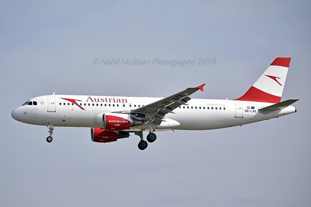 Austrian Airlines OE-LXE Airbus A320-216 cn/3532 @ EDDF / FRA 26-05-2019
