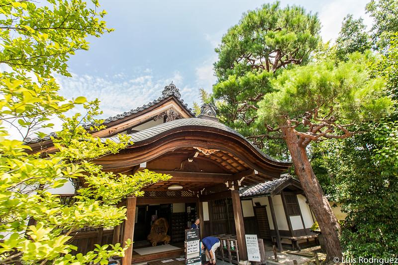 Entrada al templo Daisen-in