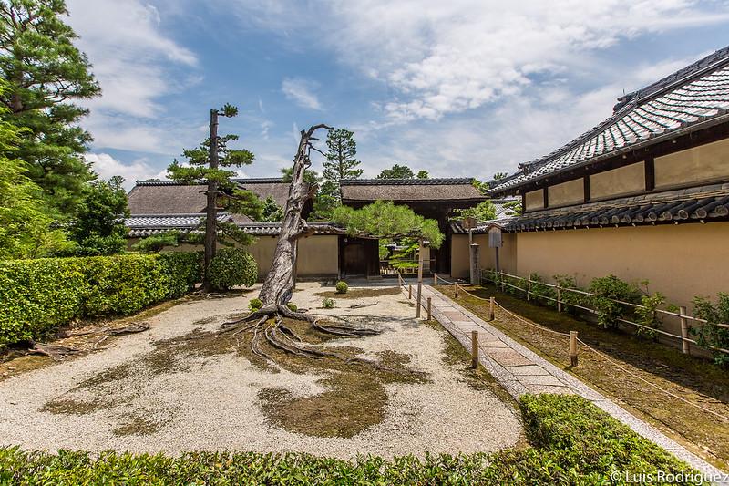 Entrada al templo Shinju-an