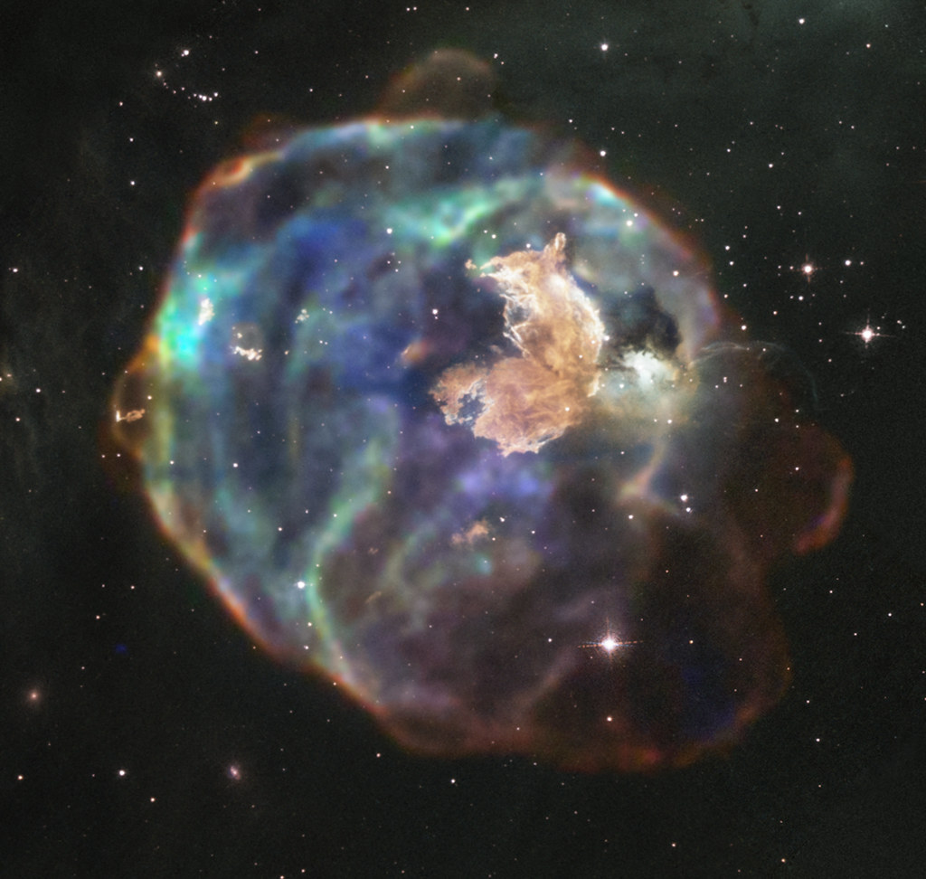 X-ray & Optical Image of LMC N63A