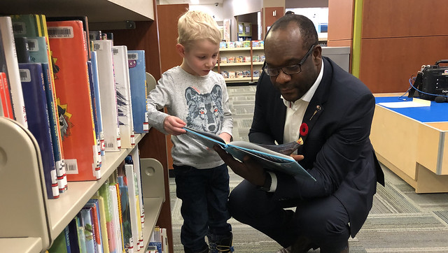 Government affirms stable funding for libraries