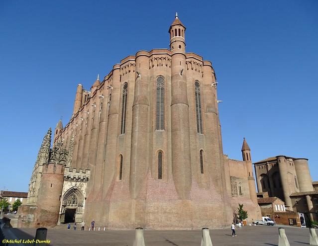Albi - La Cathédrale Sainte Cécile et le Palais de la Berbie