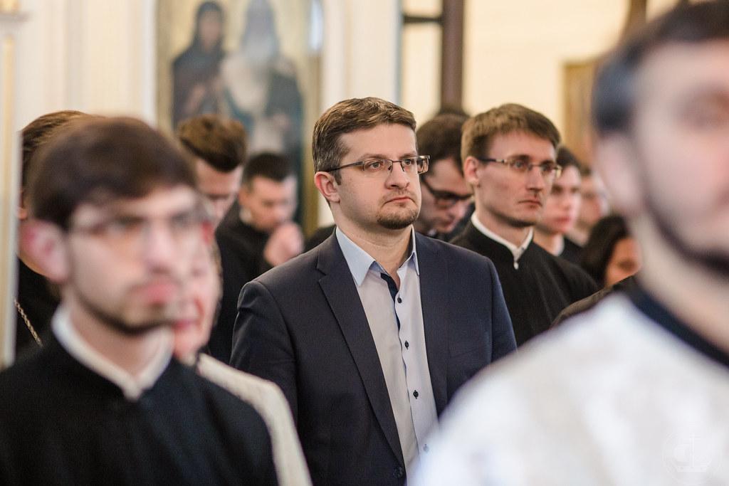8 ноября 2019, Отпевание профессора протоиерея Иоанна Белёвцева / 8 November 2019, The funeral of the professor presbyter Joahn Belevsev
