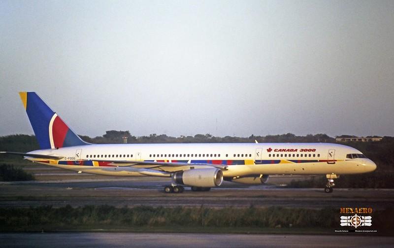 Canada 3000 / Boeing 757-23A / C-FOOG