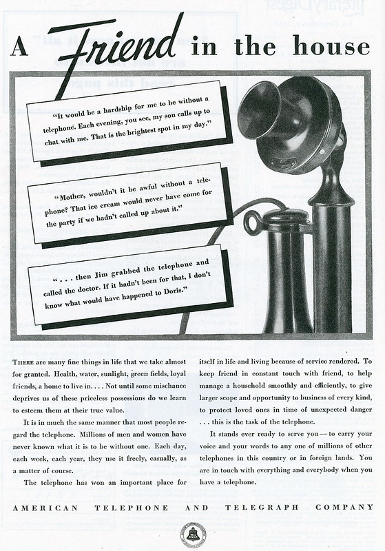 American Telephone & Telegraph Company 1923
