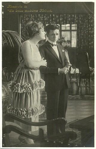 Hesperia in La belle Madame Hebert (1922)