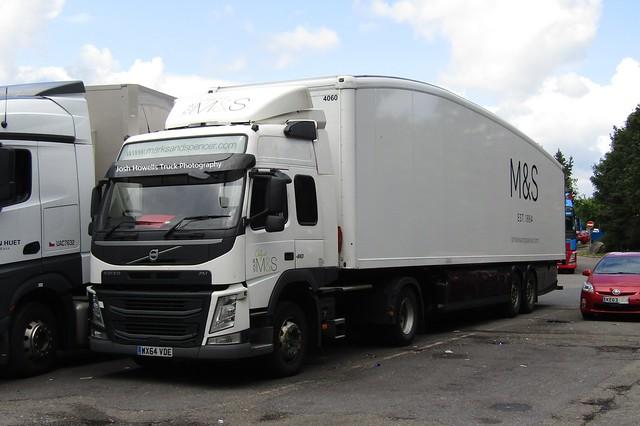 Gist Logistics WX64 VDE At Watford Gap Services