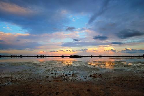 Salt Lake Sunset Impression