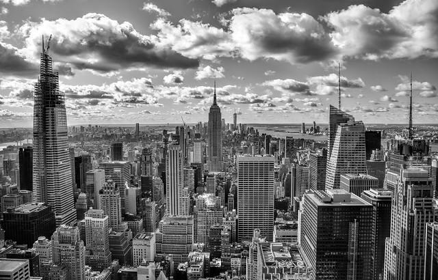 View from the top of the Rock (NYC)