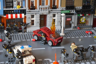 Skirmish in New Brick City