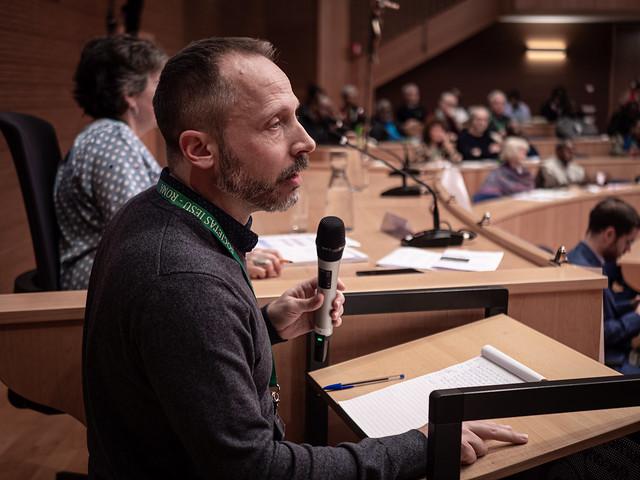 Ted Penton, SJ, secrétaire pour la justice et l'écologie à la Conférence jésuite du Canada et des États-Unis
