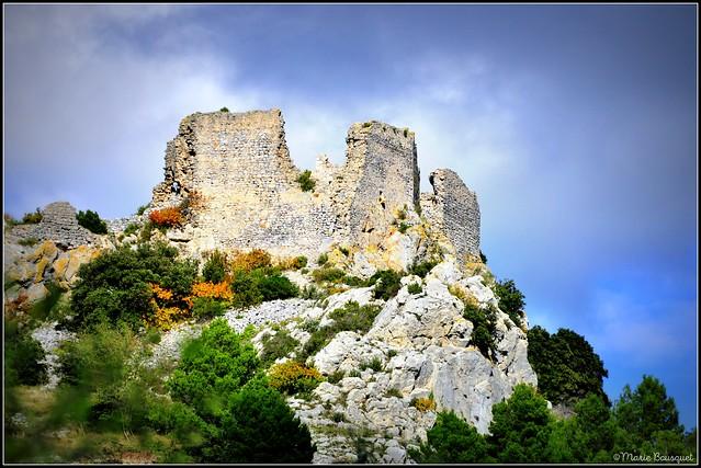 Ruines du Château d'Opoul