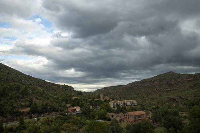 Cable Car View - Monistrol de Montserrat, Catalonia, Spain