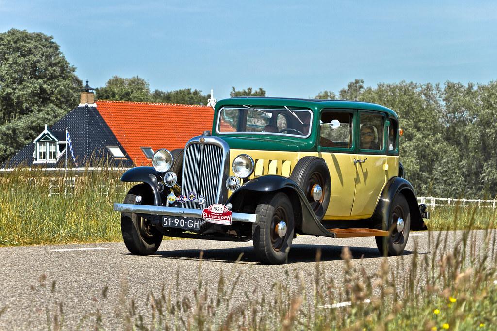 Citroën 10A Conduite Intérieure 1933 (5462)
