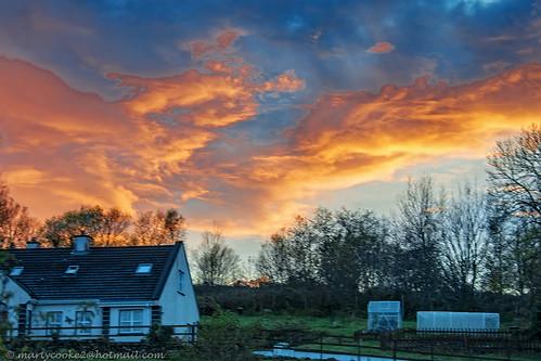 sunset sunsets sky redskyatnight outdoor outside lovelyleitrim connaught connacht leitrim coleitrim countyleitrim northleitrim red