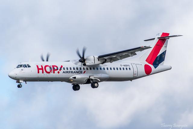 [ORY] HOP! ATR 72-600 _ F-HOPX
