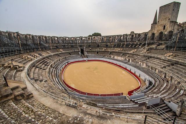 Arles, arène