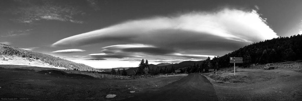 Col de Jau Cloud Pano