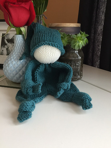 Christina knit this Knubblechen by pezi888 for her nephew