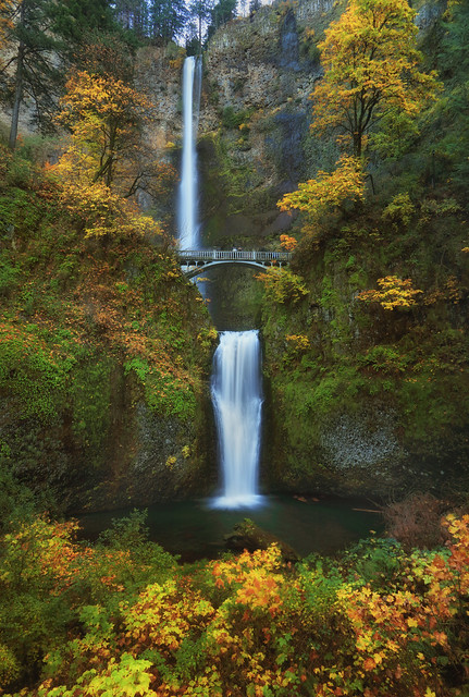 Multnomah Falls - Height 620′