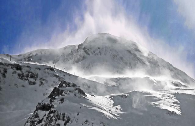 FRANCE - Pyrenees - Ossau region - Wind Storm!