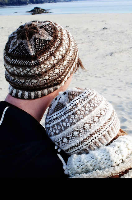 Fitful Head by Aileen Ryder is a free stranded lightweight but toasty little hat!