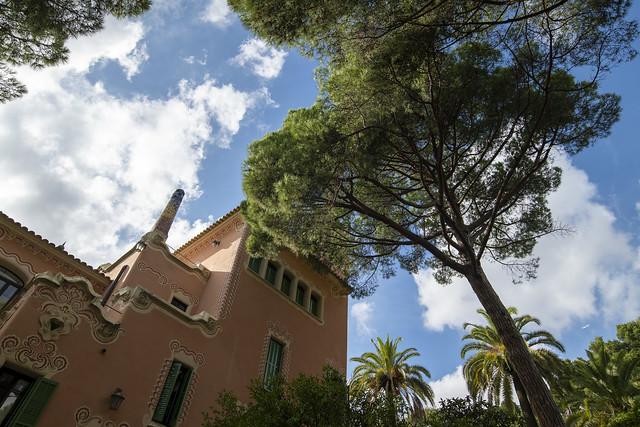 Gaudí House Museum Exterior - Park Güell, Barcelona, Catalonia, Spain