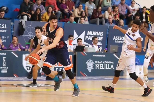 JORNADA 8 | Club Melilla Baloncesto vs Marín Ence Peixe Galego (ORO 19/20)