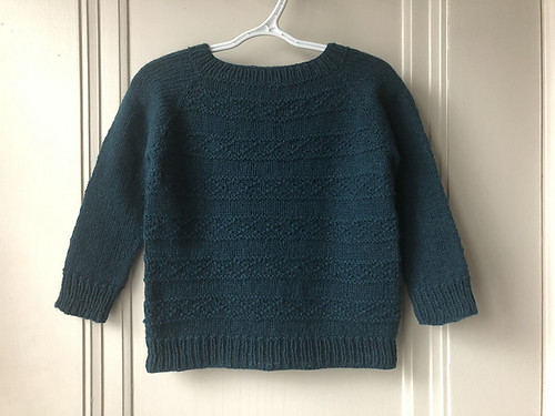 Another Dani Sunshine pattern - this one is Making Tracks knit by Lise