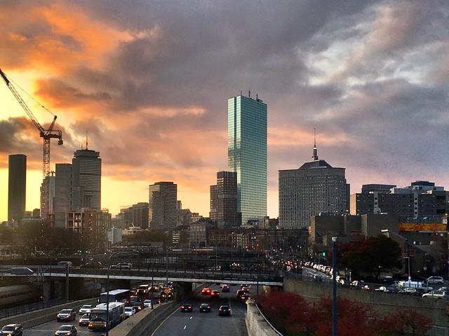 Boston - Primary Sunset!
