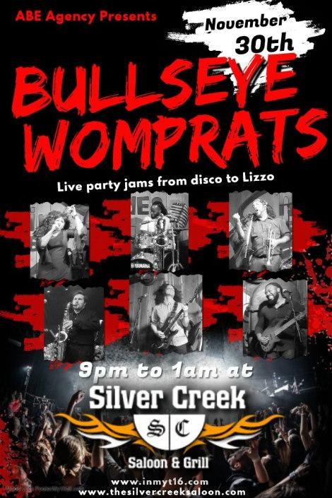 Bullseye Womprats 11-30-19