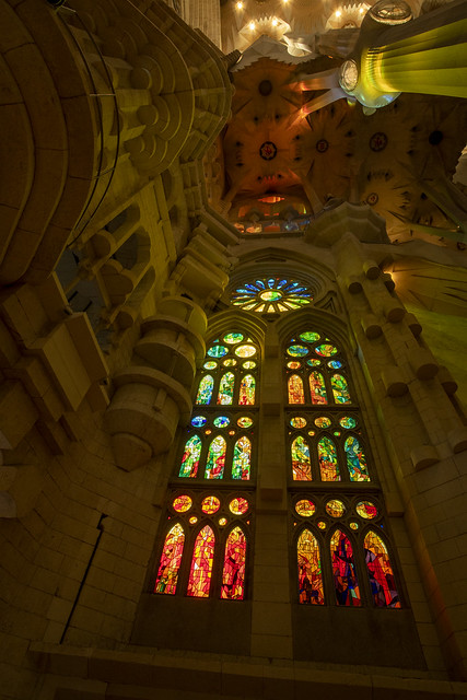 Sagrada Familia - Eixample, Barcelona, Catalonia, Spain